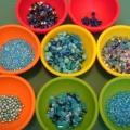 Выбор цвета бисера
