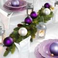 С фиолетовыми шариками