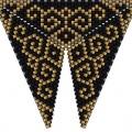 Треугольник из бисера 6