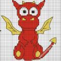 Красненький дракончик