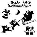 Санта и олени