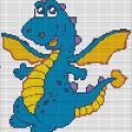 Голубой дракончик