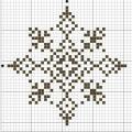 Схема снежинки 20