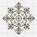 Схема снежинки 23