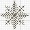 Схема снежинки 5