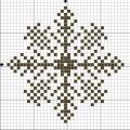 Схема снежинки 7